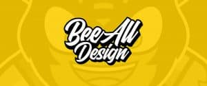 BeeAllDesign logo blog header