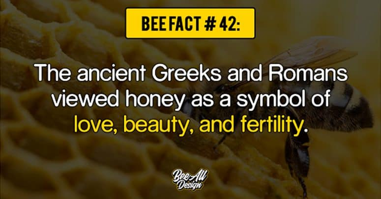 bee_fact_#42: symbol of love, beauty, and fertility
